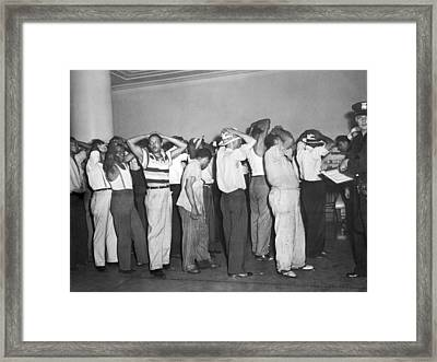 Detroit Race Riots Framed Print