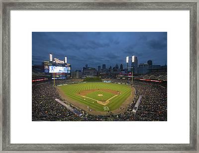 Detroit Tigers Comerica Park 2 Framed Print by David Haskett