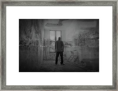 Detroit Urbex  Framed Print