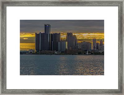 Detroit Versus Everybody  Framed Print