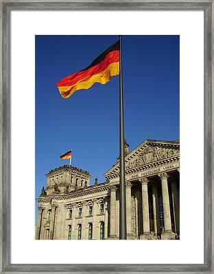 Deutscher Bundestag Framed Print by Flavia Westerwelle
