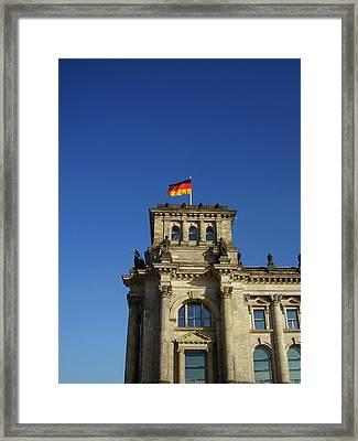 Deutscher Bundestag II Framed Print by Flavia Westerwelle