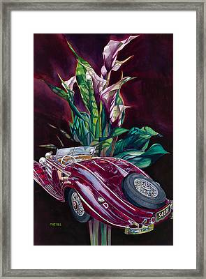 Deutschland Uber Lilies Framed Print by Mike Hill