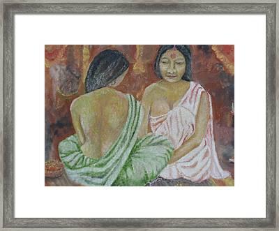 Dev Dasiyan Framed Print by Rajesh Chopra