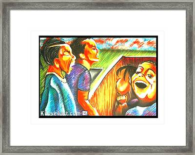 Devan And Sherill Framed Print