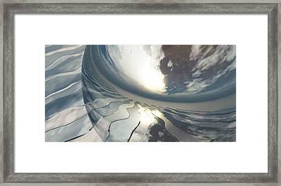 Deviating World Framed Print by Richard Rizzo