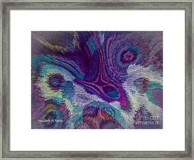 Genetic Modified Iris Framed Print