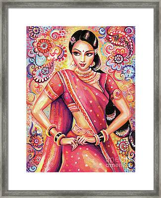 Devika Dance Framed Print by Eva Campbell