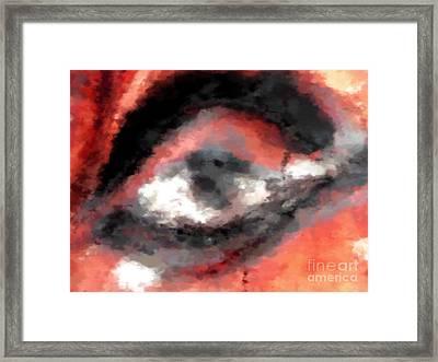 Devil Eye Framed Print by Miroslav Nemecek