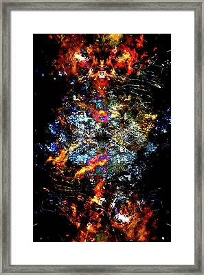 Devil In A Top Hat Framed Print