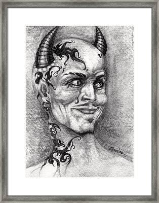 Devil May Cry Framed Print by Alban Dizdari