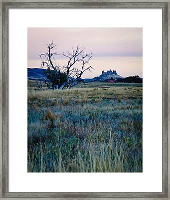 Devil's Backbone, Loveland, Colorado Framed Print