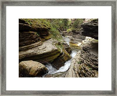 Devil's Bathtub Sd Framed Print