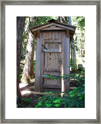 Devil's Dream Privy Framed Print