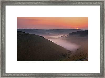 Devils Dyke Framed Print