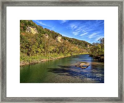 Devil's Elbow Framed Print