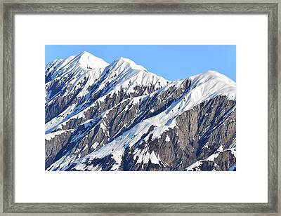 Devils Food With Frosting - Wrangall St. Elias Framed Print