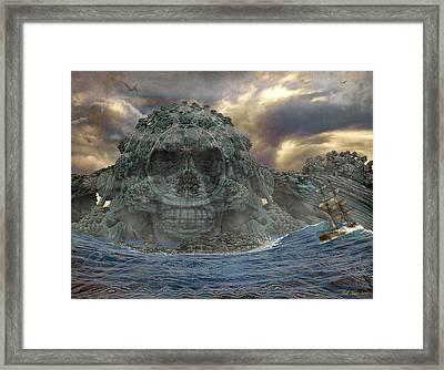 Devil's Island Framed Print