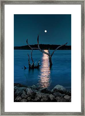 Framed Print featuring the photograph Devil's Night by Thomas Gaitley