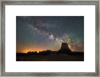 Framed Print featuring the photograph Devils Night Watch by Darren White