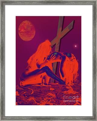 Devils Playground Framed Print by Tbone Oliver
