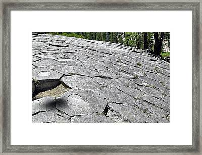 Devils Postpile - Nature And Science Framed Print