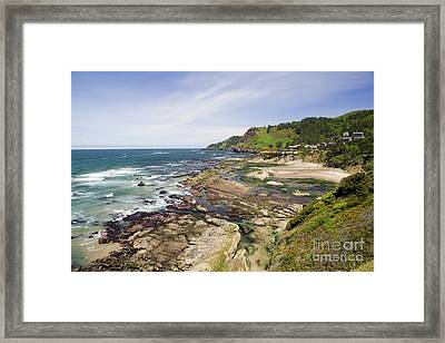 Framed Print featuring the photograph Devil's Punchbowl by Andrew Serff