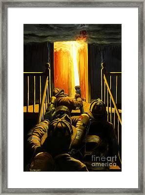 Devil's Stairway Framed Print