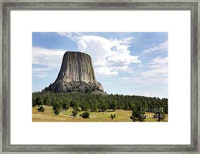 Devils Tower National Monument Framed Print