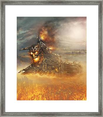 Devils Train 2 Framed Print