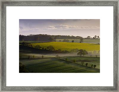 Devon Dawn Framed Print by Neil Buchan-Grant