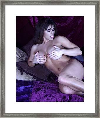 Devon Michaels Framed Print by Jean Macfal