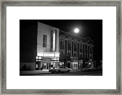 Devon Theatre, 1979 Framed Print