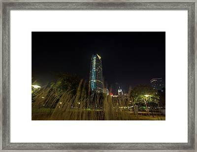 Devon Tower Okc 2 Framed Print