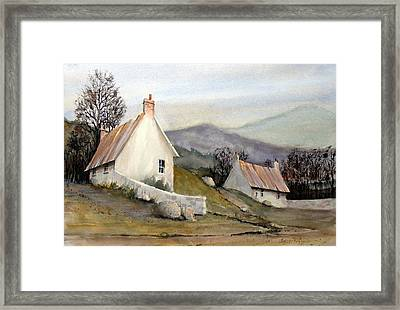 Devonshire Cottage I Framed Print by Charles Rowland