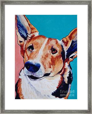 Devoted Friend Framed Print by Pat Saunders-White