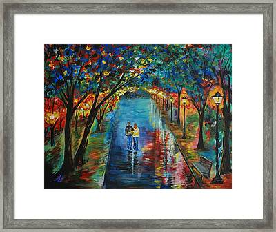 Devoted To You Framed Print