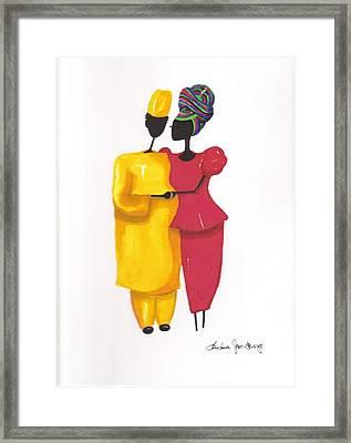 Devotion Framed Print by Bee Jay