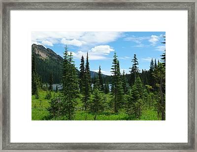 Dewey Lake Framed Print
