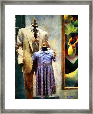 Nuclear Family Framed Print by RC deWinter