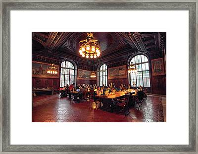 Dewitt Wallace Periodical Room Framed Print