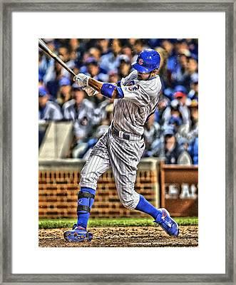Dexter Fowler Chicago Cubs Framed Print