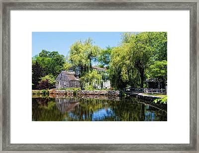 Dexter Grist Mill Framed Print