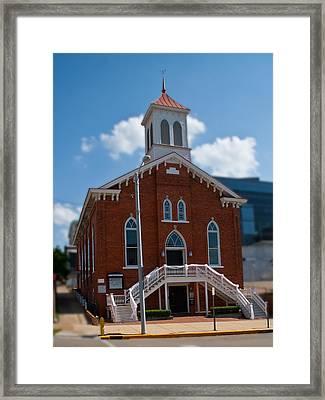 Dexter King Memorial Baptist Church Framed Print by Arnold Hence