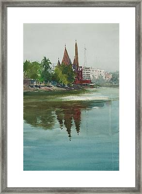 Dhanmondi Lake 04 Framed Print by Helal Uddin