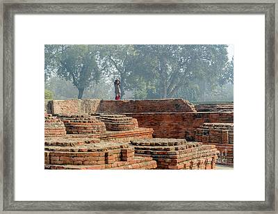 Dharma Chakra Jinavihara 02 Framed Print