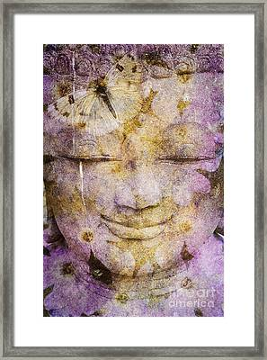Framed Print featuring the photograph Dharma by Marianne Jensen