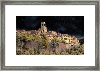 di notte a St Paul Framed Print