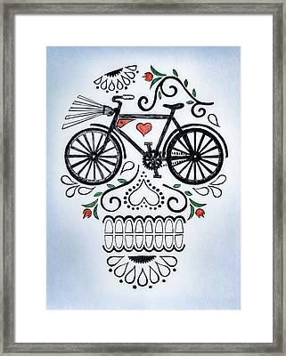 Muertocicleta Framed Print by John Parish