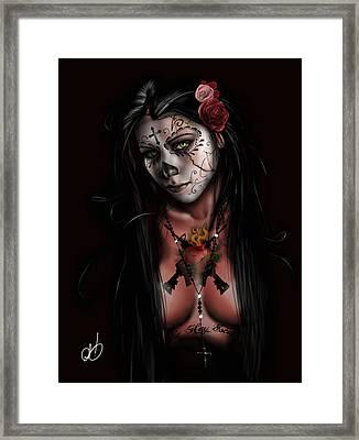 Dia De Los Muertos 3 Framed Print by Pete Tapang